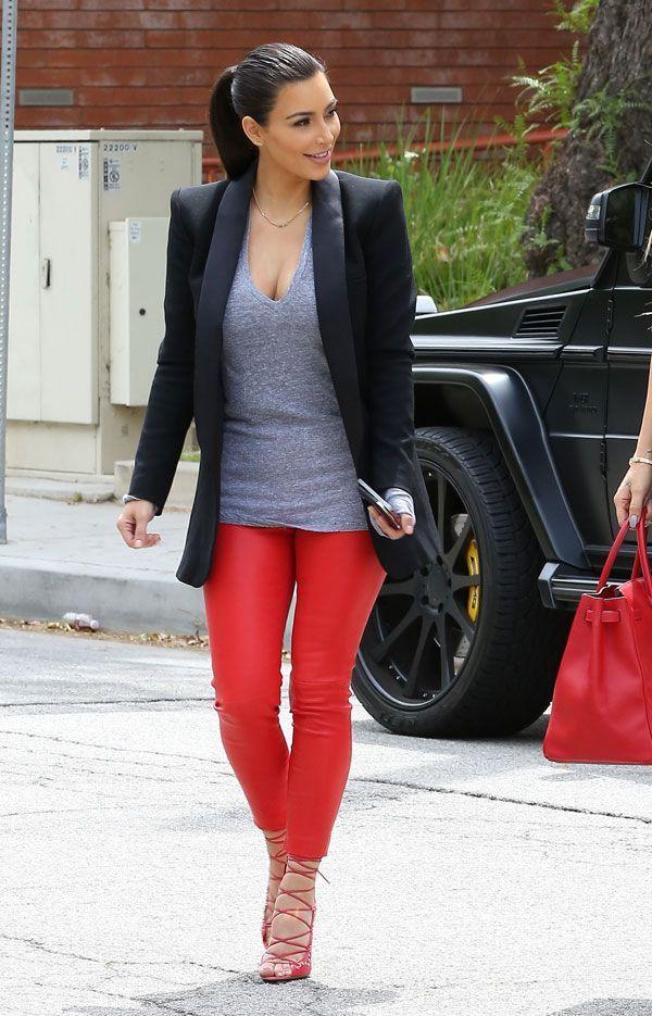 25  best ideas about Red leggings on Pinterest | Maroon leggings ...