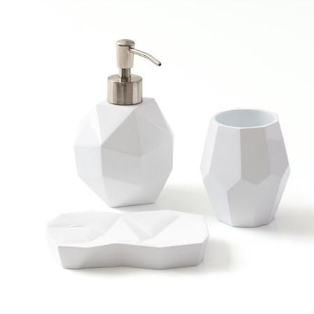 9 by Novogratz Kaleidoscope 3-Piece Bath Accessories Set