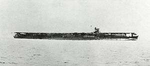 Japanese aircraft carrier Soryu.jpg  Desplazamiento15.900 toneladas, 19.500 a plena carga  Eslora222 metros  Manga21 metros  Calado7,44 metros  Armamento  • 12 cañones de 127 mm • 26 cañones antiaéreos de 25 mm  • 15 ametralladoras antiaéreas de 13,2 mm