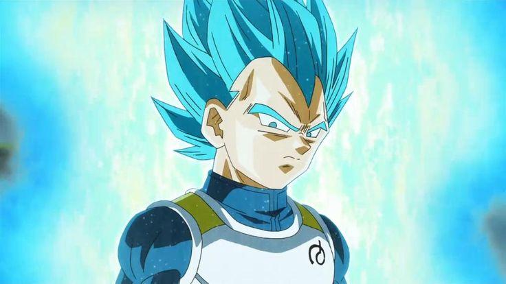 Vegeta Super Saiyajin Blue