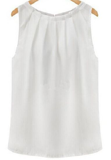 top cuello redondo gasa-blanco 8.54