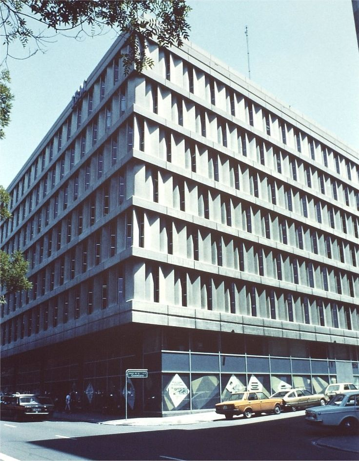 Branch Office of IBM (1967) in Madrid, Spain, by Miguel Fisac