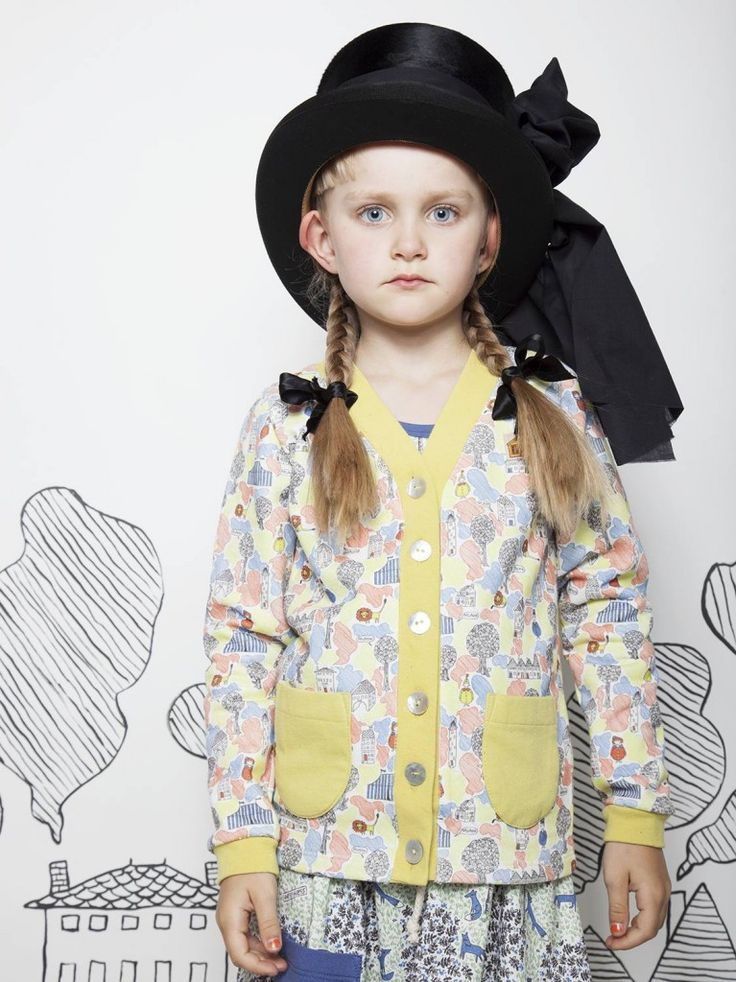Showcasing the brand new print RUN LION! for spring 2014 from Modeerska Huset kidswear collection.