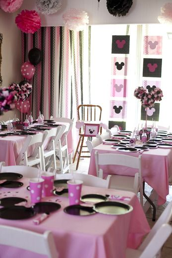 Minnie Mouse Birthday Party Ideas | Photo 2 of 50 | Catch