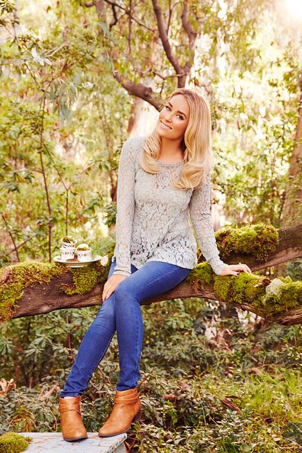 The perfect lace peplum top from LC Lauren Conrad.