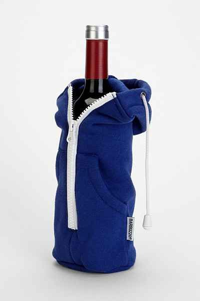 zip it up wine bottle hoodie urban outfitters noteworthy wine odds ends pinterest. Black Bedroom Furniture Sets. Home Design Ideas