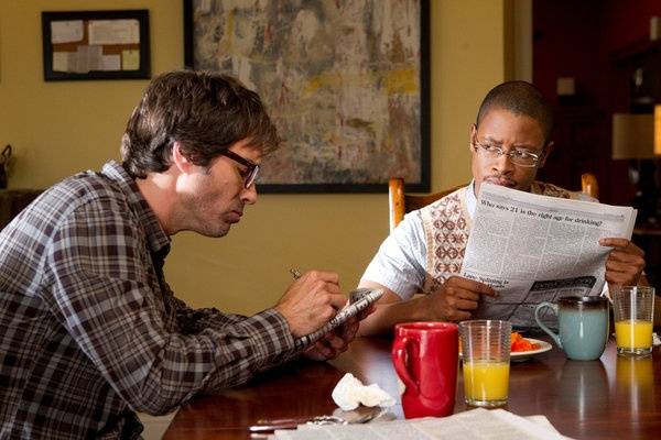 Eric McCormack and Arjay Smith in Perception