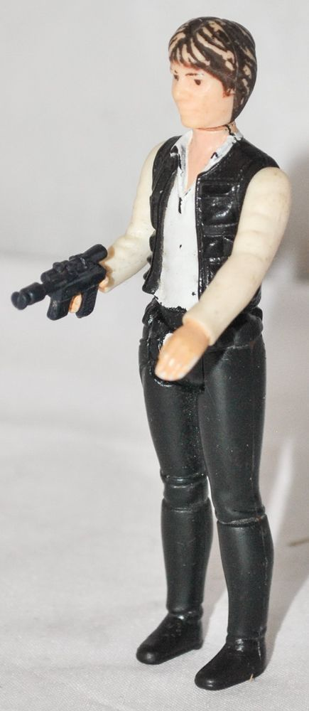 """Vintage Star Wars - Han Solo 4"""" Action Figure by Kenner from 1977, Complete"""