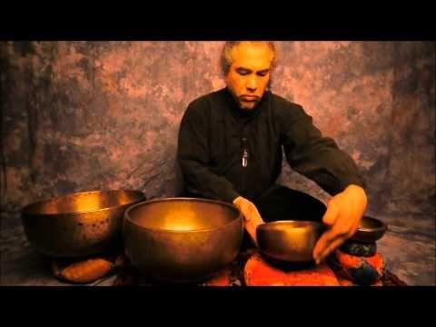 Monday Meditation: Balancing the Root Chakra with tibetan Singing Bowls.