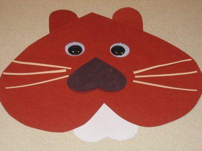 groundhog made of heartsHeart Crafts, Crafts Ideas, Ground Hog, Paper Heart, Preschool Ideas, Kids Crafts, Groundhog Crafts, Preschool Crafts, Groundhog Day