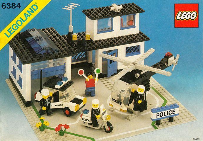 6384-1: Police Station | Brickset: LEGO set guide and database