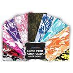 Camo Vinyl Sheet (Select Color)