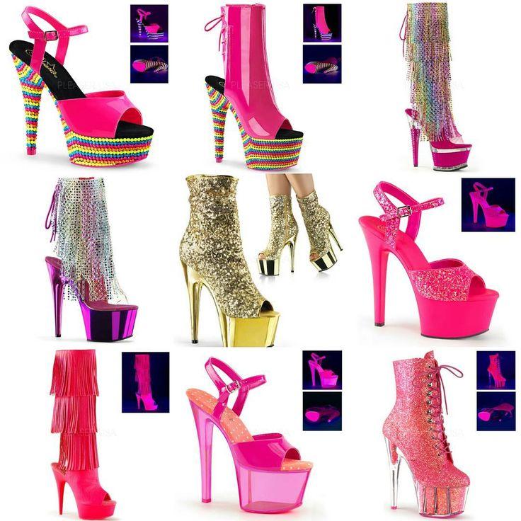 """Яркая стильная обувь (босоножки, ботфорты, полусапожки, сабо, сапожки, стрипы, шлёпанцы) от Pleaser Каталог, условия заказа, оформить заказ в интернет-магазине """"Золушка"""": www.zolushka777.com.ua Срок доставки из Америки - 2 недели Заказ у производителя делаем каждый четверг (после 18.00) #обувь #shoes #шлёпанцы #сабо #босоножки #стрипы #туфли #полусапожки #сапожки #ботфорты"""