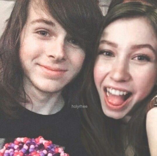 So cute together they would make a good couple :)