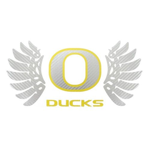 Oregon Ducks Logo With Wings Decal 14-Inch Oregon Ducks W...