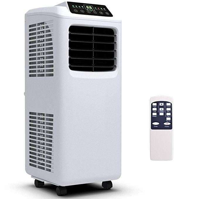 Amazon Com Costway 10000 Btu Air Conditioner Portable Air Conditioner Unit Wall Mounted Air Conditioner Portable Air Conditioner Recessed Electric Fireplace