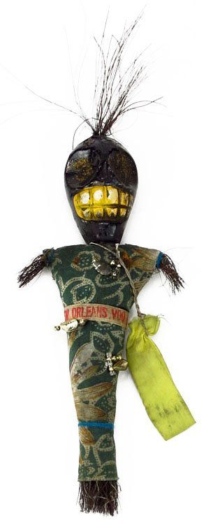 Black America 1920's New Orleans Voodoo Doll...I used to have a bunch of these I bought as souvenirs...