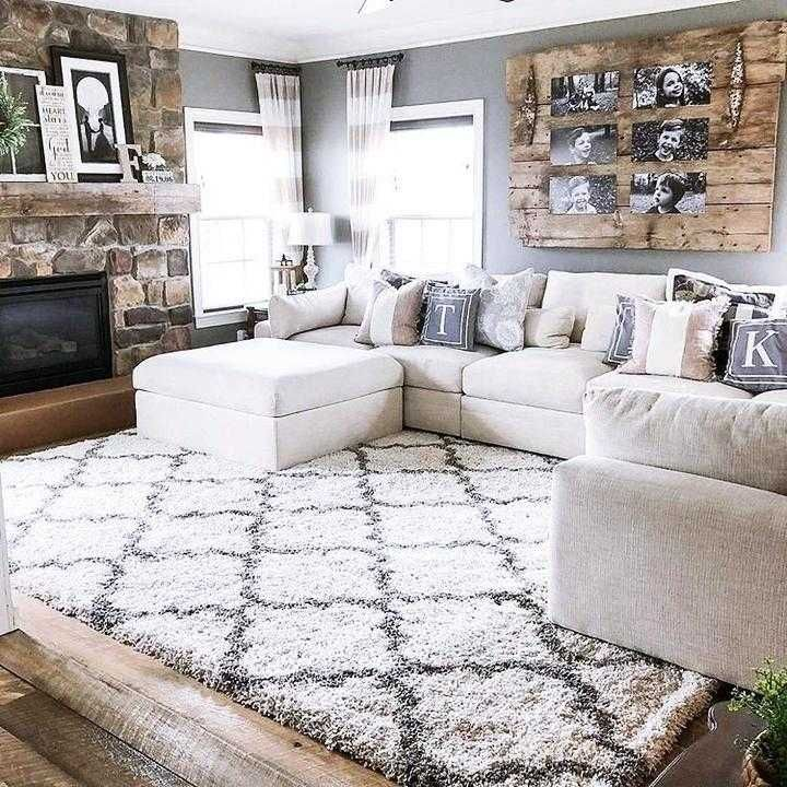 80 Most Beautiful Farmhouse Living Room Decor Ideas In 2020 Farm House Living Room Modern Rustic Living Room Farmhouse Decor Living Room