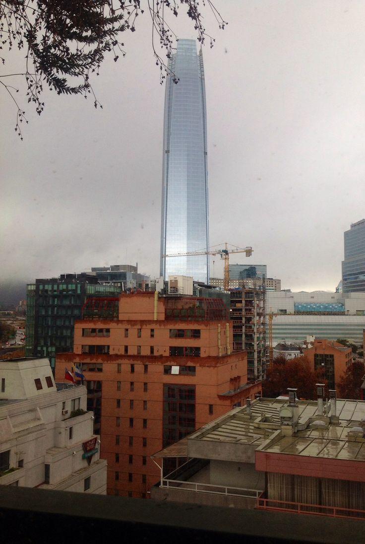From Nueva de Lyon 105 in Santiago, Chile