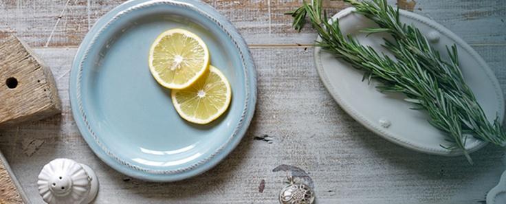 Juliska blue side plate
