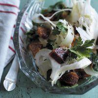 Fennikelsalat med fennikelfrø og blodappelsin