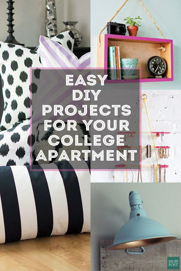 Best 25 college girl apartment ideas on pinterest college apartment decorations college girl - Cheap ways to decorate your bedroom ...