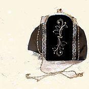 Сумки и аксессуары ручной работы. Ярмарка Мастеров - ручная работа Косметичка , клатч  с орнаментом. Handmade.