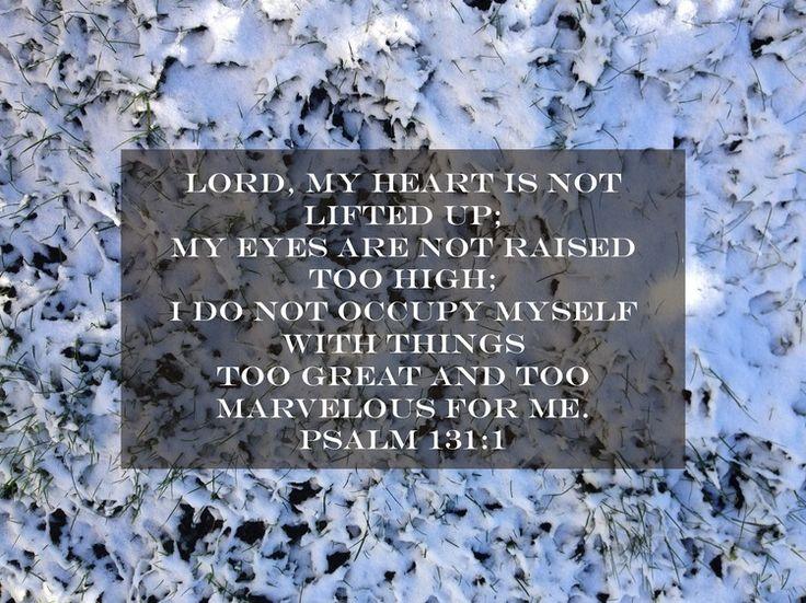 Psalm 131 via nadinewouldsay