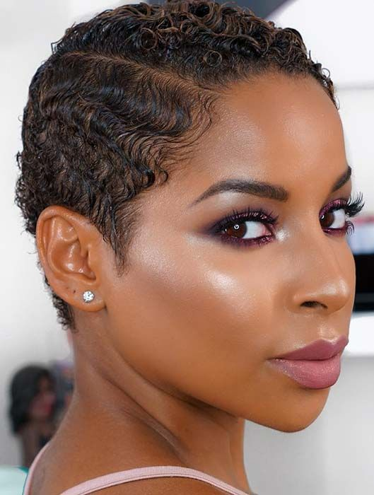 51 Best Short Natural Hairstyles For Black Women Page 5 Of 5 Stayglam Short Natural Hair Styles Natural Hair Styles Black Women Short Hairstyles