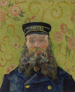 The Postman (1889) - Vincent Van Gogh