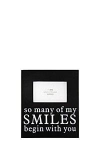 SO MANY OF MY SMILES PHOTO FRAME