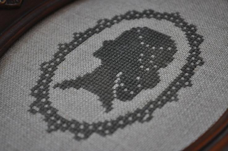 cameo cross stitch