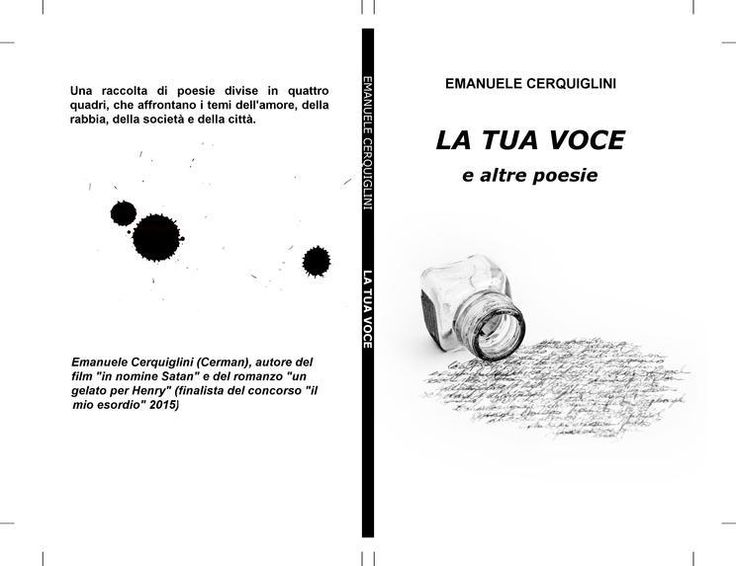 #ilmioesordio #poesie2015 #LaTuaVoce in formato ebook e cartaceo! http://ilmiolibro.kataweb.it/lib…/poesia/195708/la-tua-voce/