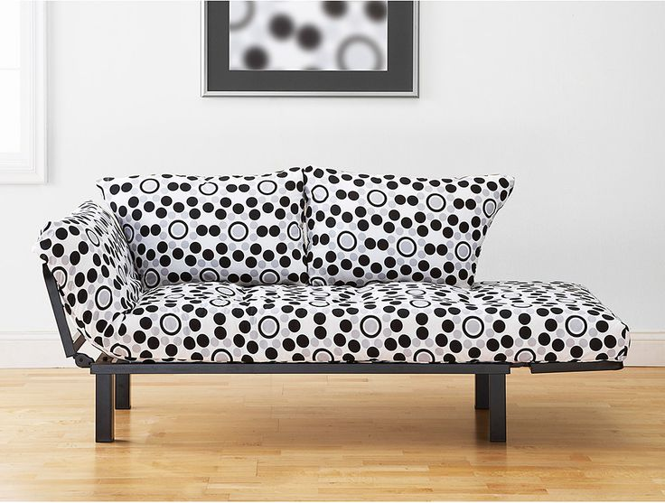 Medium image of spacely futon lounger in well rounded fabric by kodiak  futonsnyc