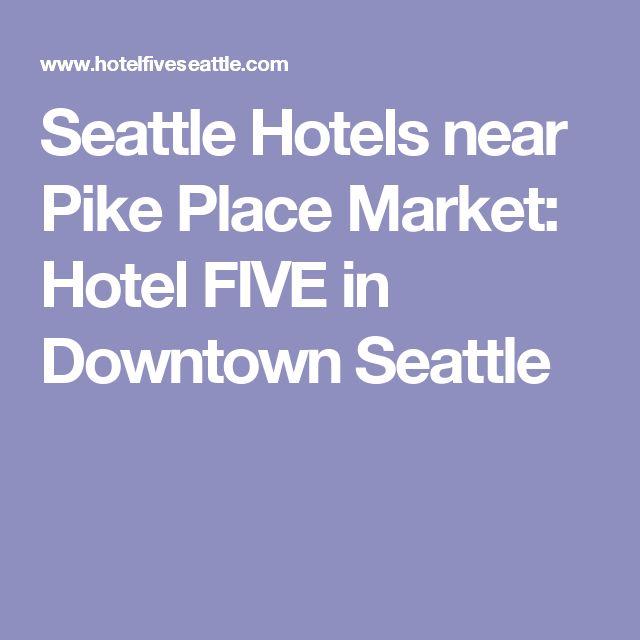 Hotels Near Westlake Station Seattle
