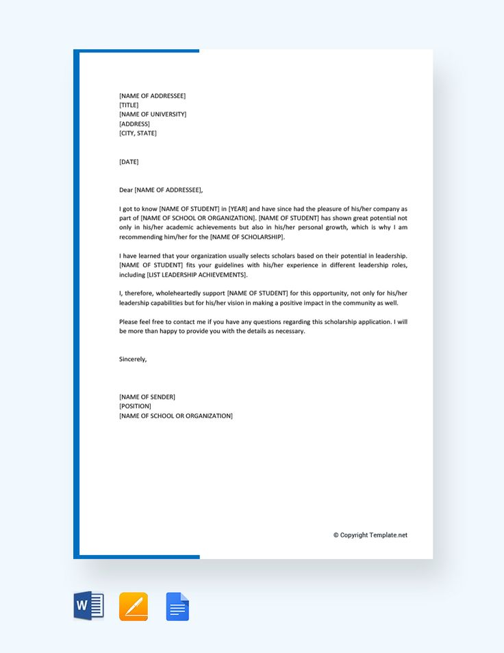 Cooperating Agency Research Example Letter
