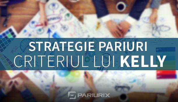 Articole Pariuri sportive pe PariuriX.com: Strategii de pariuri sportive și Criteriul lui Kelly pentru a câștiga bani din pariurile pe fotbal