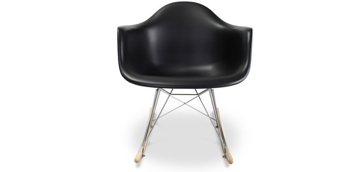 Chaise à bascule RAR Charles Eames Style - Polypropylène Matt