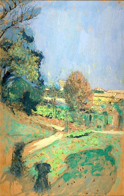 Edouard Vuillard / Le château d' eau entre 1932 et 1938