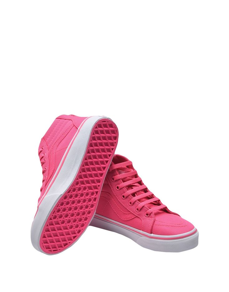 Vans Old School Solid Pink High-Tops in Vans Old School Solid Pink High-Tops #vanssneakers