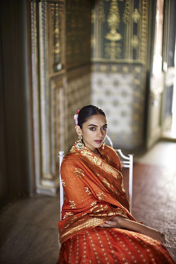 Aditi Rao Hydari for Hello India Anita Dongre Bridal