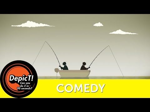 BAIT - FUNNY ANIMATION   DepicT! 2015 Shortlist   Watershed - YouTube