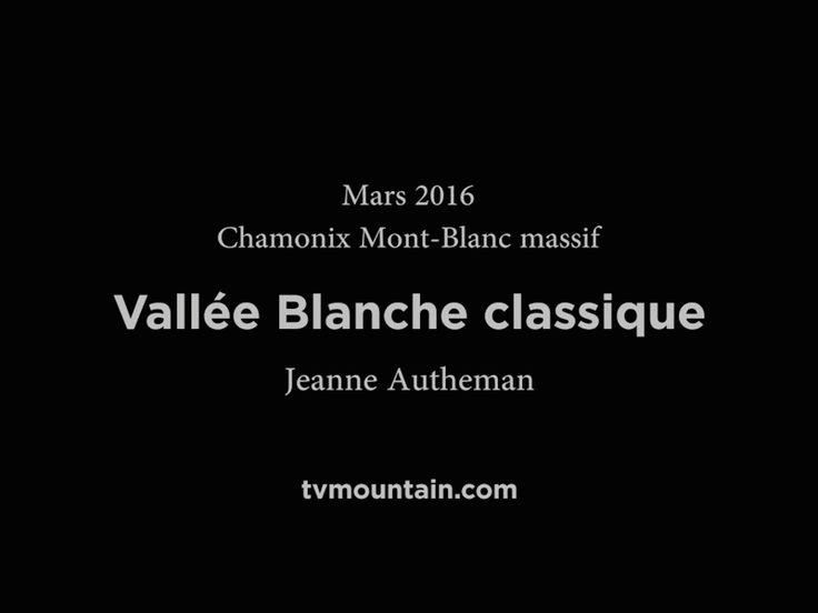 Mars 2016, ski hors pistes... Aiguille du Midi, Chamonix Mont-Blanc massif... Vallée Blanche Classique via le refuge du Requin... Merci à Jeanne Autheman... VIDEO: http://www.tvmountain.com/video/glisse/11162-aiguille-du-midi-vallee-blanche-classique-refuge-du-requin-ski-hors-pistes-chamonix-mont-blanc.html