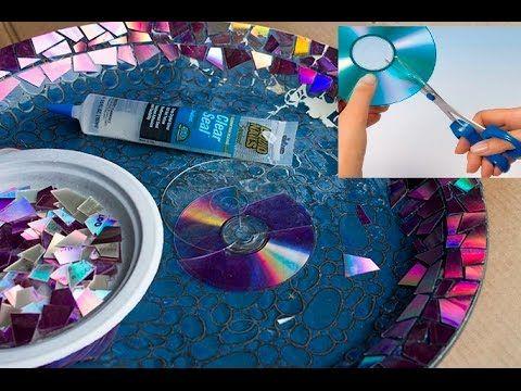 How to Cut CD DVD into Shapes without Cracks ||  Как вырезать CD-DVD в ф...