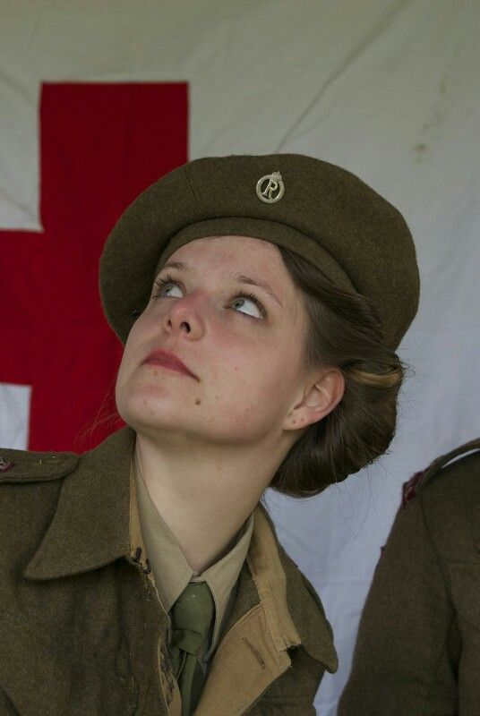 A queen alexandra's imperial military nursing service reserve Nurse