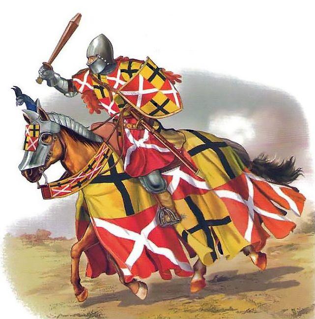"1447 c. Louis de Gruuthuse in tournament armor Луи де Грютхузе в турнирной броне"""