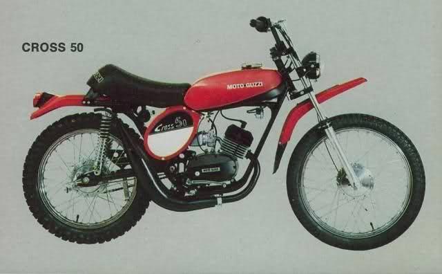 Moto Guzzi Cross 50-1975