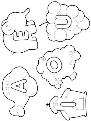 vogais para colorir                                                                                                                                                                                 Mais