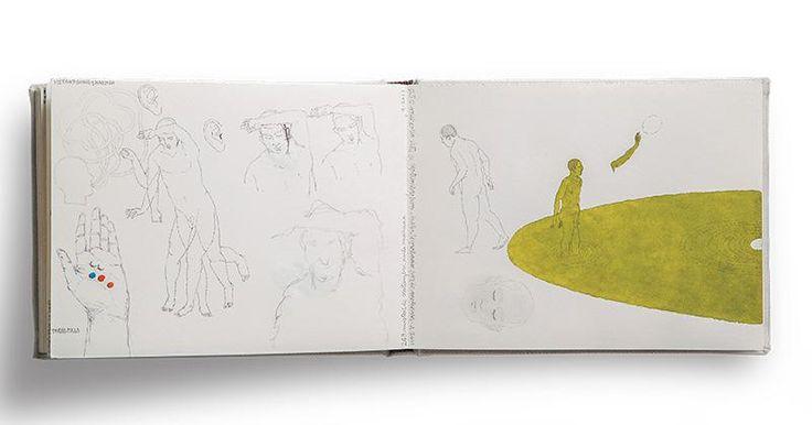 La obra de José Antonio Suárez Londoño es un viaje emprendido hace cincuenta  y tantos años, cuando su mamá le enseñó a pintar en la casa de infancia.  Desde entonces, su vida de archivista y lector ha sido consignada en decenas de libretas que son el diario de un deslumbrante dibujante.