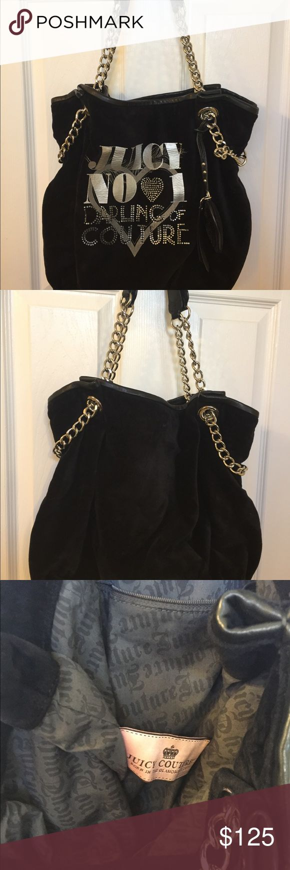 Juicy Couture Bag Like new bag by Juicy Couture, fashionable and with bling Juicy Couture Bags Shoulder Bags